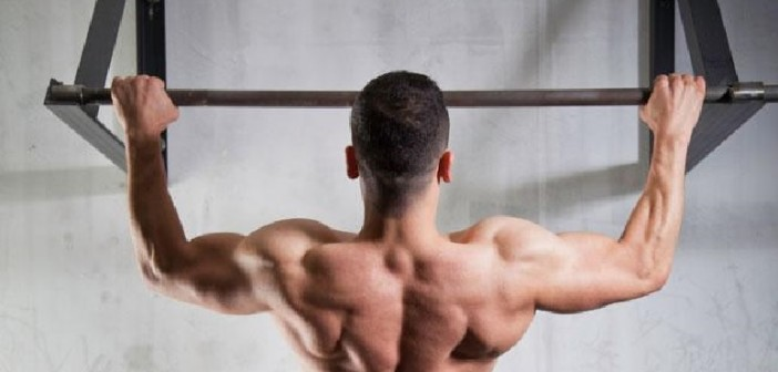 Strong Lat Muscle