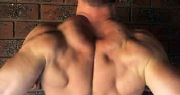 Big Trapezius Muscle