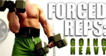 forced repetitions bodybuilding technique
