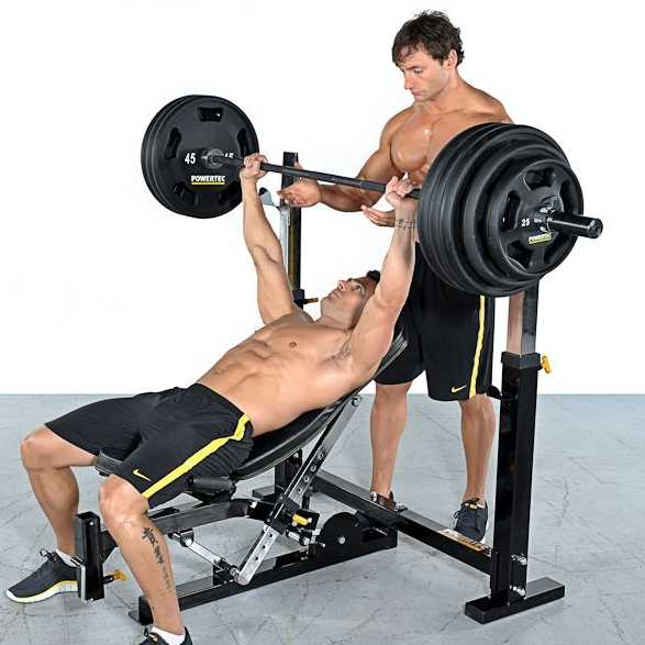 Incline Barbell Bench Press • Bodybuilding Wizard