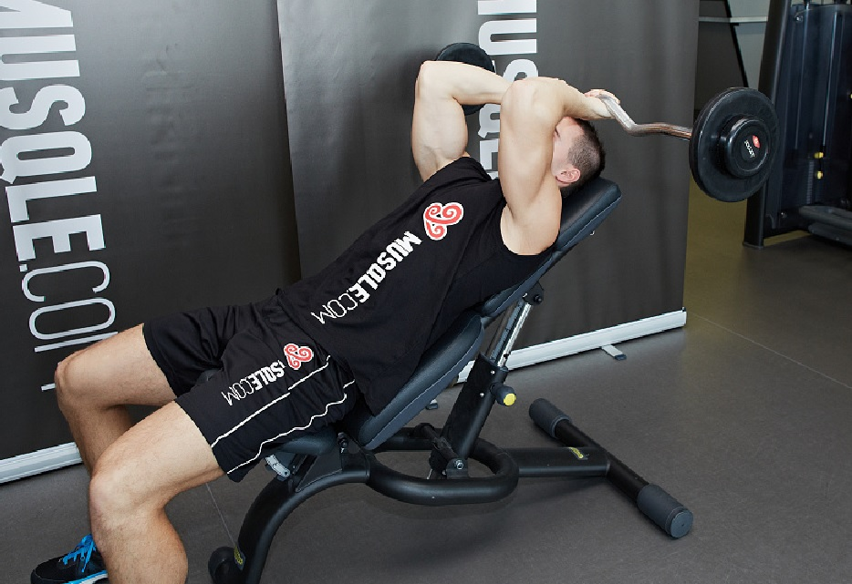 incline tricep extension - photo #13