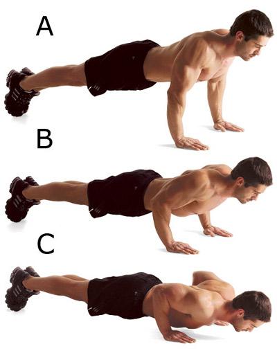 chest push ups bodybuilding wizard
