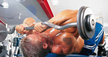 Skull-Crushers Triceps Exercise