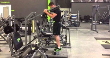 Machine Standing Calf Raise