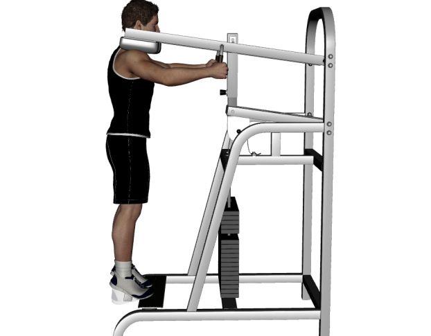 Machine Standing Calf Raise