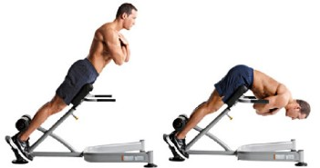 lower back hyperextension