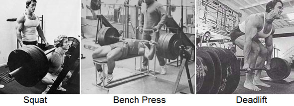 Examples of compound exercises