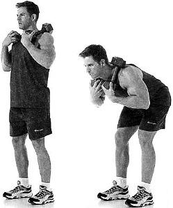 Dumbbell Good Morning - Lower Back Exercise