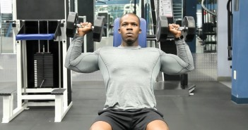 Dumbbell Overhead Press Exercise