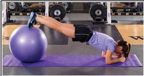 Feet Elevated Forearm Plank