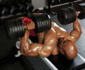 Flat Bench Dumbbell Press