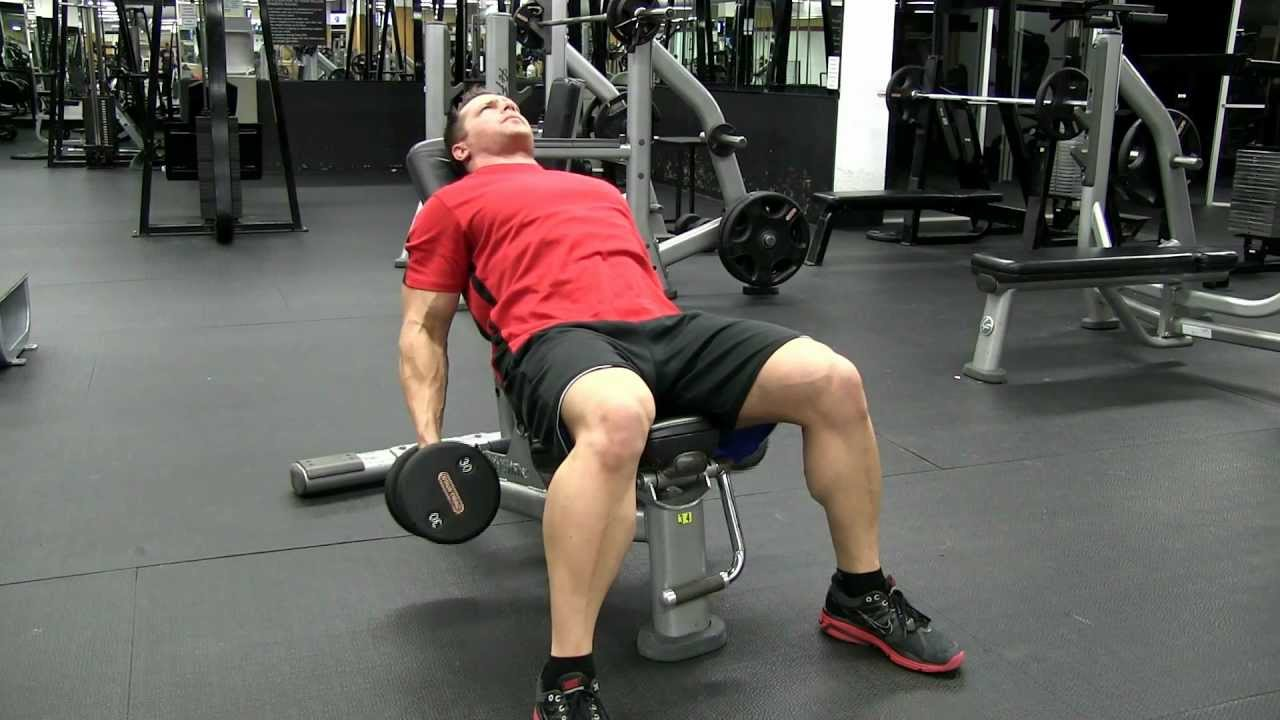 Image result for Incline Dumbbell Curls Exercises