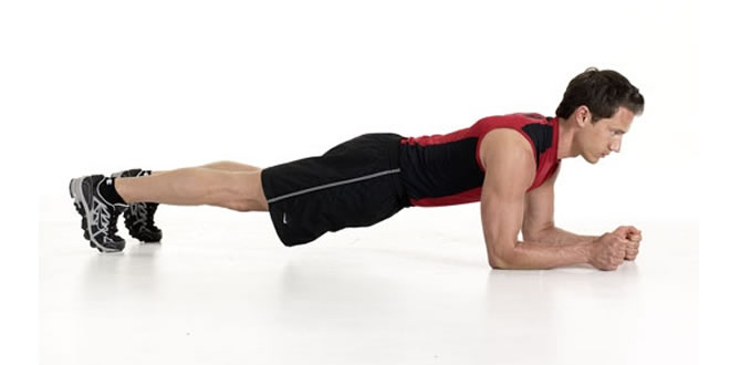 Plank - Core Exercise