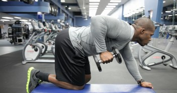 Dumbbell Kickback Exercise