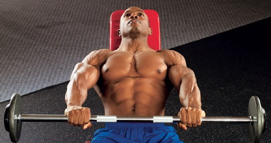 Extended Rear Facing >> Incline Barbell Front Raise • Bodybuilding Wizard