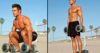 Dumbbell Squat Exercise Instructions