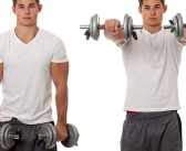 Dumbbell Front Raise Exercise