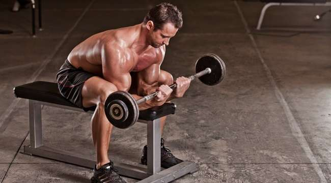 Image result for Barbell Wrist Curls
