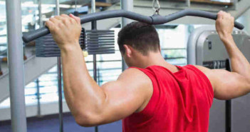 Back Lat Pulldown Exercise