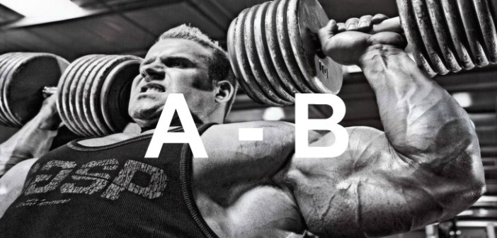 Bodybuilding Glossary: A-B
