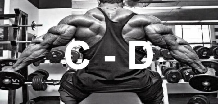 Bodybuilding Glossary: C-D