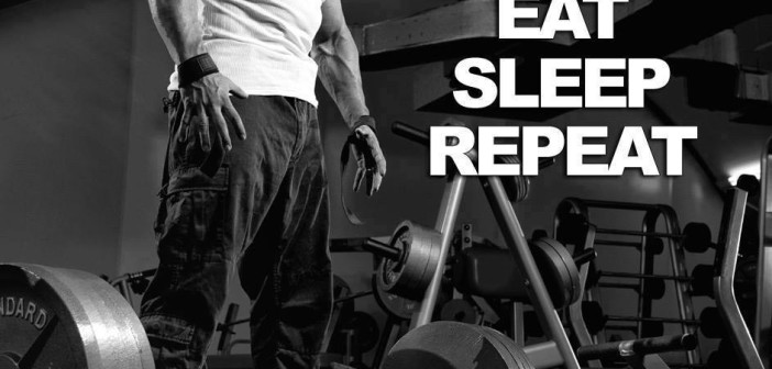Lift heavy, eat, sleep and repeat