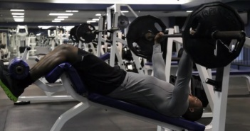 Decline Barbell Bench Press Exercise
