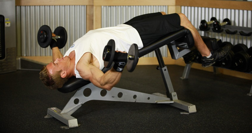 Decline Bench Dumbbell Fly Bodybuilding Wizard