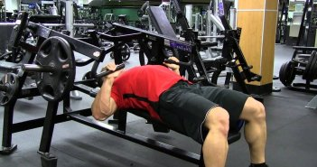 Machine Bench Press