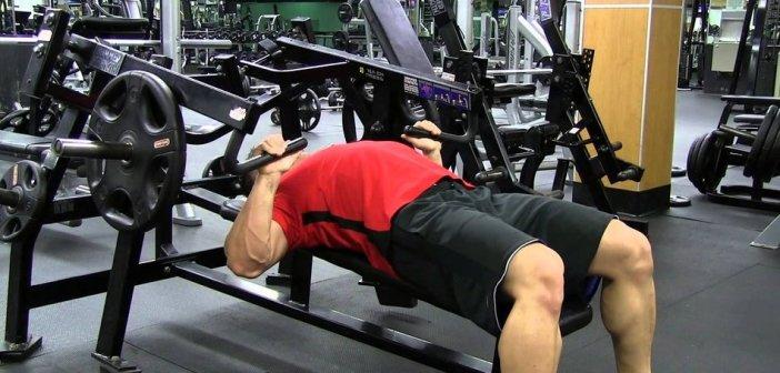 Machine Bench Press