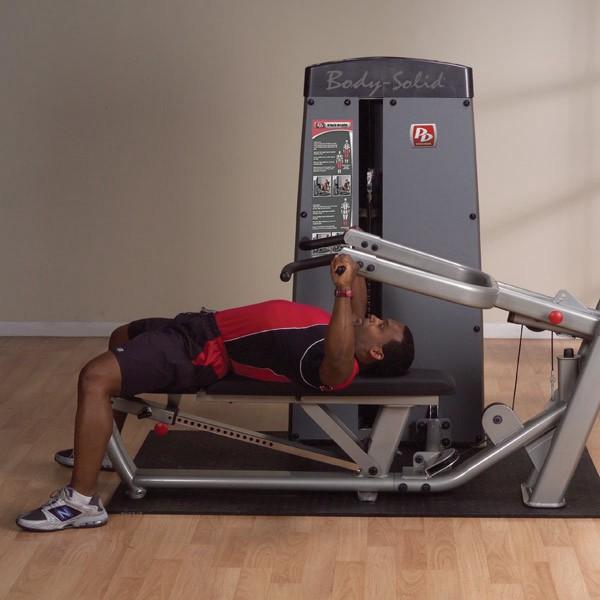 Machine Bench Press Exercise
