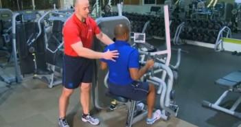 Machine Row Exercise