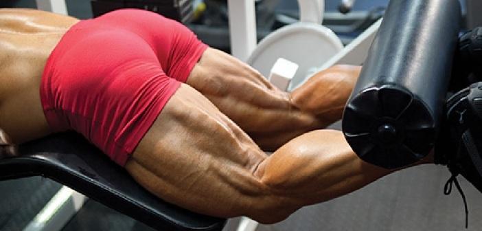 massive hamstring muscles