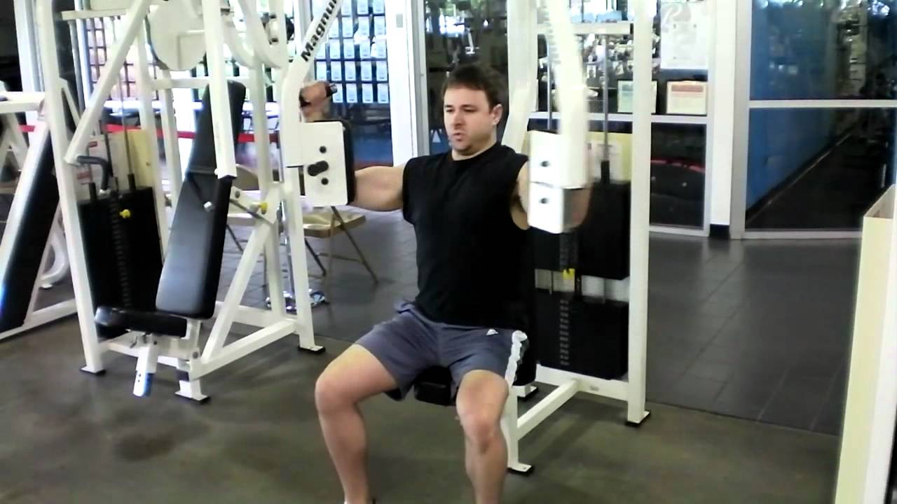 Pec Deck Fly Exercise