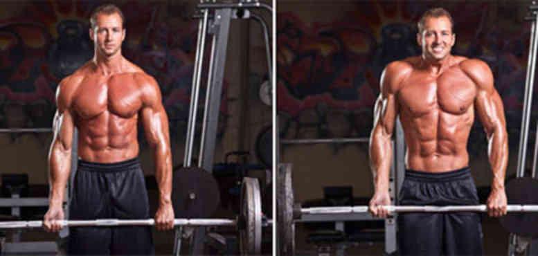 Barbell Shrug • Bodybuilding Wizard