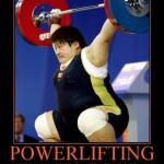 Funny powerlifter