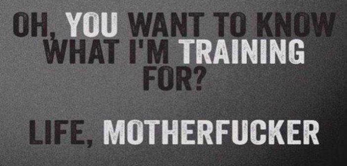 Bodybuilding Training Quote