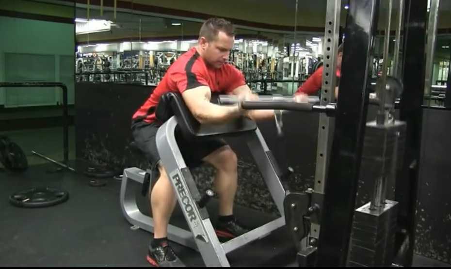 Cable Preacher Curl Exercise Bodybuilding Wizard