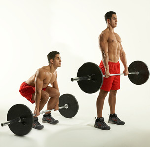 Conventional Deadlift Exercise