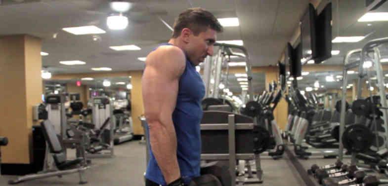 Dumbbell Shrug • Bodybuilding Wizard