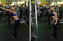 Straight-Arm Lat Pull-Down Exercise