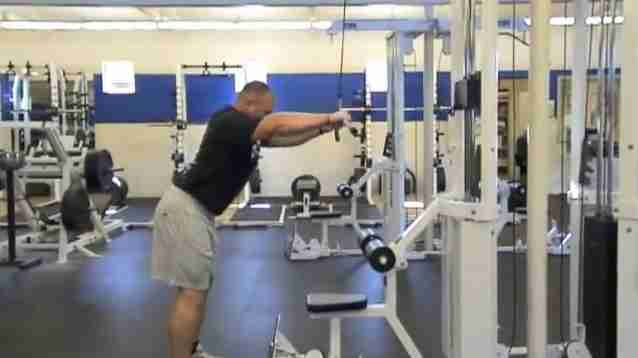 Straight Arm Lat Pull-Downs