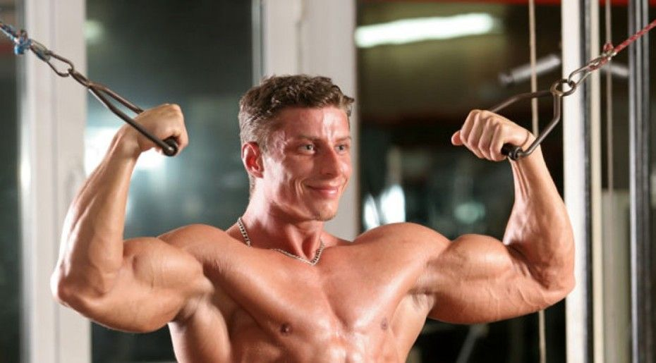 High Pulley Curl Exercise Guide Bodybuilding Wizard