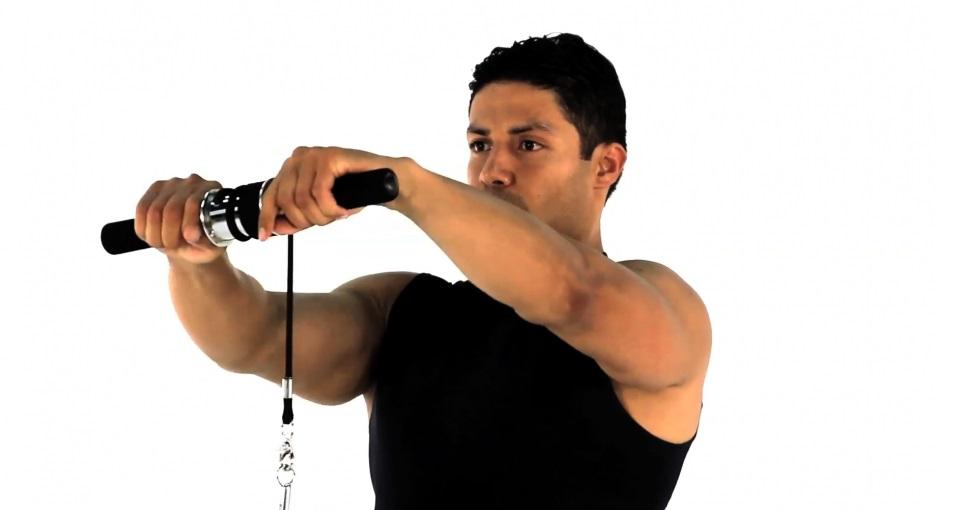 Wrist Roller Wrist Curl • Bodybuilding Wizard