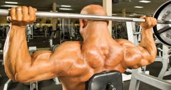 Behind the Neck Shoulder Press