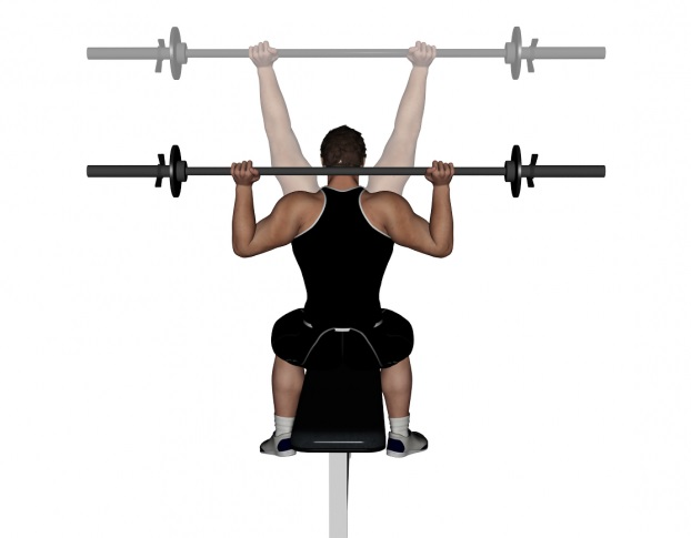 Behind The Neck Shoulder Press