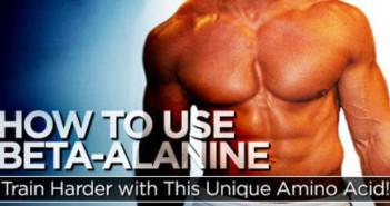 Beta Alanine as a Sport Supplement