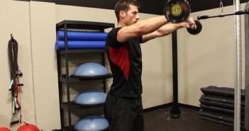 Standing Barbell Front Raise