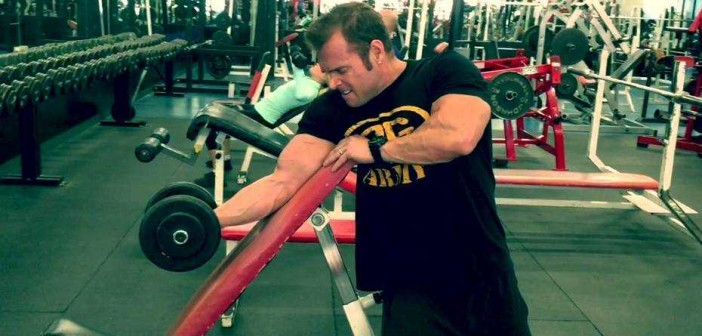 Dumbbell Curl Over Incline Bench