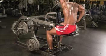 Triceps Dip Exercise Machine